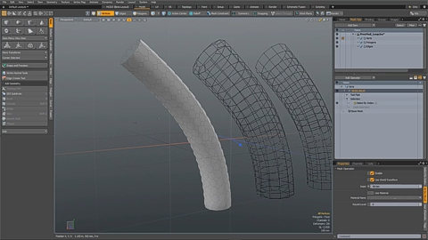 MODO 12.1 :: MESH OPS | SELECT LOOP OPERATION