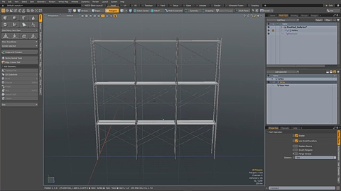 MODO 12.1 :: MESH OPS | UNIFY POLY