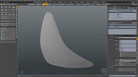 MODO 12.1 :: MESH OPS | SURFACE CONSTRAINT CLOSEST