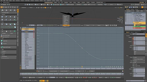 MODO 12.1 :: ANIMATION | SMOOTH FLAT KEY SLOP
