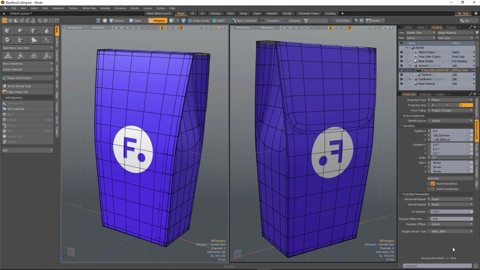 MODO 12.1 :: TEXTURING | FRONT CULLING