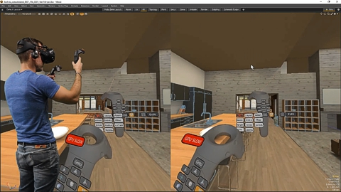 MODO 12.1 :: VR | INTEGRATED VIEWPORT