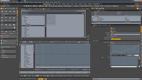 MODO 12.1 :: USER INTERFACE | MINI GRADIENT EDITOR
