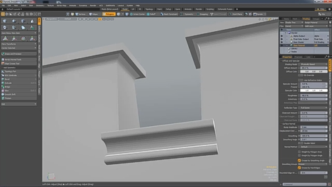 MODO 12.1 :: FORCED SMOOTHING