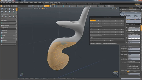 MODO 12.1 :: SMOOTHING GROUP MANANGER