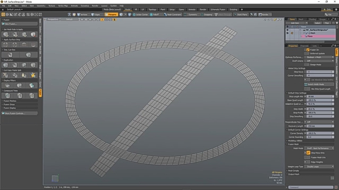 MODO 12.1 :: MESH FUSION | SURFACE STRIPS