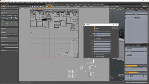 MODO 12.1 :: UV | BACKGROUND CONSTRAINT