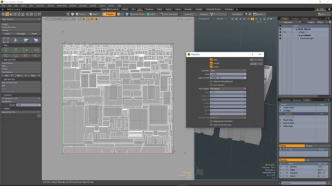 MODO 12.1 :: UV | GAPS BY PIXEL